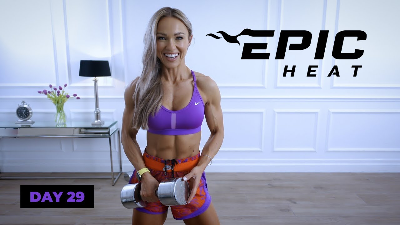 STRENGTH & SWEAT Full Body Workout - Circuits | EPIC Heat - Day 29