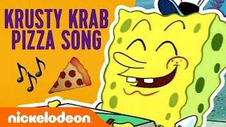 The Krusty Krab Pizza Song! 🍕 Ft. SpongeBob SquarePants | Nick Video