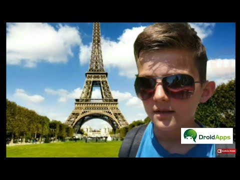 How to put your photo to Eiffel tower