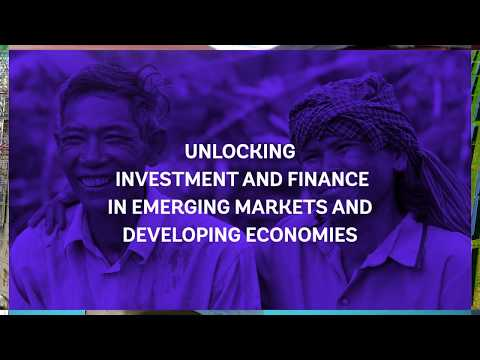 Unlocking Investment and Finance in Emerging Markets and Developing Economies (EMDEs)