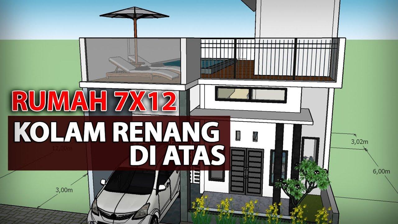 Desain Rumah Kolam Renang Di Lt2 Cek Bahan Bangunan