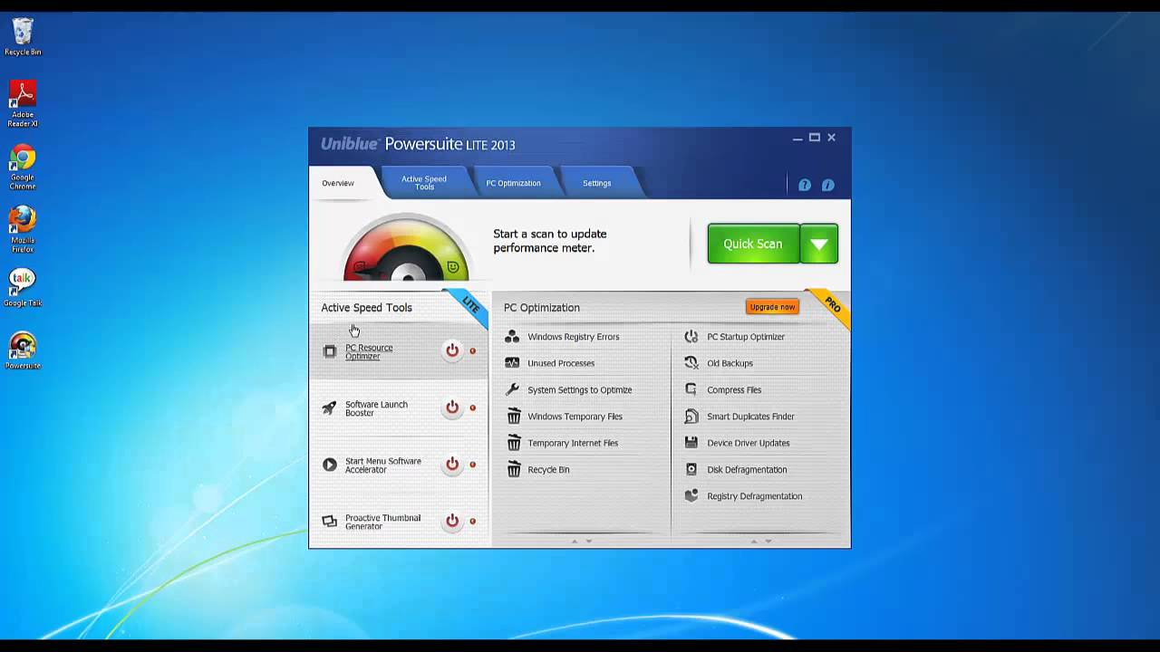 Uniblue how to install and activate powersuite 2013