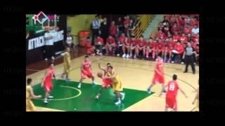 高級組銀牌籃球賽皇者之戰」負方盟主「南華」以65比61擊敗爭取衛冕的「...