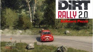 DiRT Rally 2.0 - Mitsubishi Lancer Evo VI - Waldabstieg, Baumholder, Germania [ONBOARD+TV CAMERA]