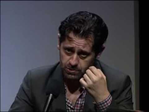 Interview d'Olivier Py par Antoine de Baecque, le 21 novembre 2011, au Centre Pompidou.