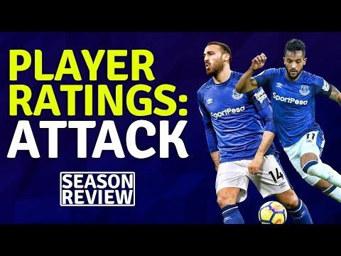 Attack Player Ratings   Everton Season Review 17/18
