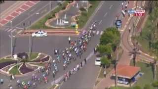 Тур Турции 2013. Кошмарный завал на последнем километре