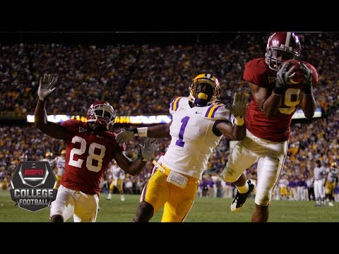 Alabama Crimson Tide vs. LSU Tigers: Best rivalry games | College Football Highlights