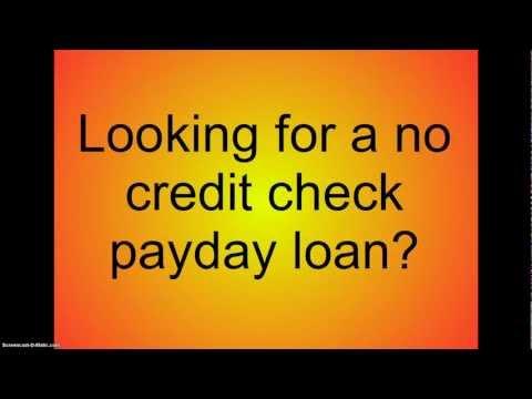 No Credit Check Payday Loans- Payday Loans No Credit Check