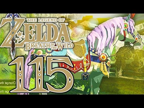 SUCHE NACH DEM PERFEKTEN PFERD! Zelda Breath of The Wild Part 115 [Deutsch/Switch]