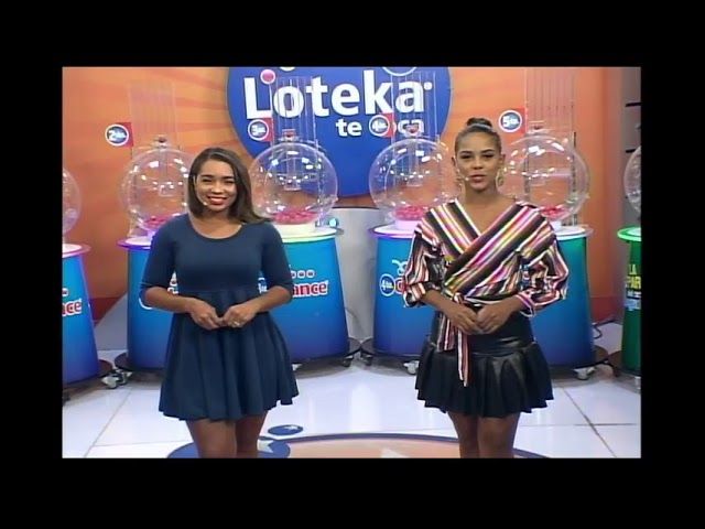 Loteka Lotería Electrónica Sorteo 07:55 PM 04-04-2021