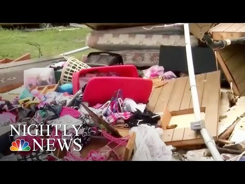 Deadly Storms Hit 9 Southern U.S. States | NBC Nightly News