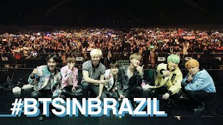 THE WINGS TOUR BTS IN BRAZIL #VLOG