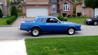 1980 Dodge Diplomat Coupe - late 2011 street run