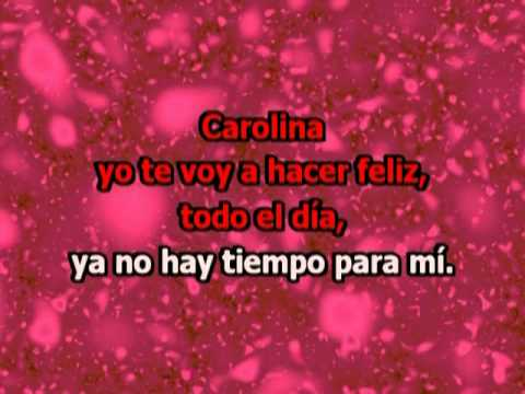 Carolina - Los Ratones Paranoicos (con letra karaoke)