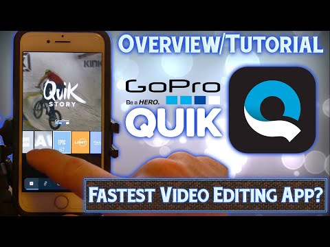GoPro Quik App - Overview & Tutorial - iPhone Video Editor