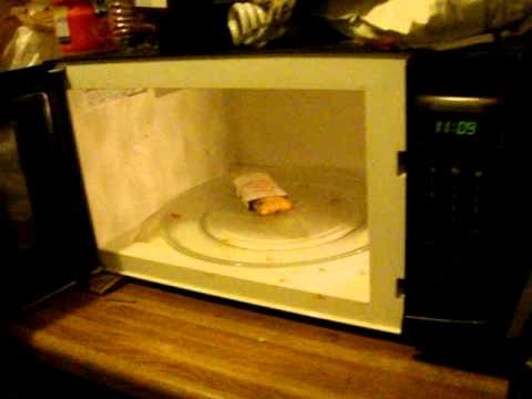 Hot Pocket Zaps Itself In Microwave Youtube
