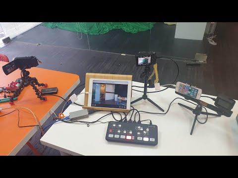 ATEM mini也可以在iPad做臉書直播