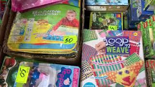 Рынок садовод . Дешевые детские игрушки.