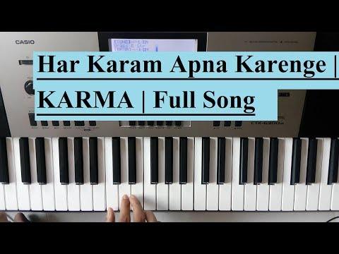 Har Karam Apna Karenge | KARMA | Full Song