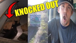 BAIT TRUCK PRANK IN CRAZY PIT!! THIEF KNOCKED OUT!!