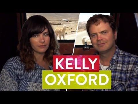 Kelly Oxford & Rainn Wilson Chat in a Sweaty Van  Metaphysical Milkshake