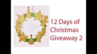 Giveaway #2!!  12 Days of Christmas Day 9