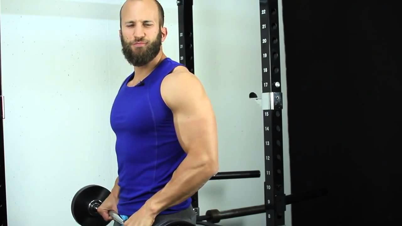 45cm Oberarm aufbauen so einfach geht\'s! - YouTube