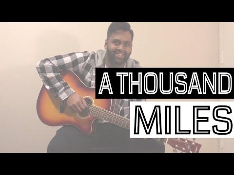A Thousand Miles - Vanessa Carlton (Male Cover)
