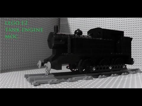 Lego E2 tank engine moc showcase