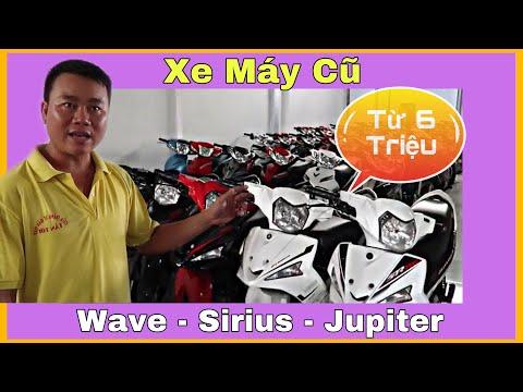 Xe Máy Cũ Sirius, Wave, Jupiter,....Giá chỉ từ 6 Triệu tại TP.HCM