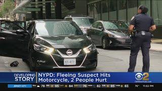 Manhattan Police Chase Shocks Residents