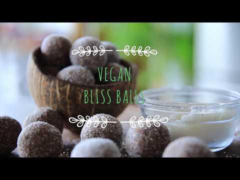 Vegan Bliss Balls easy healthy recipe