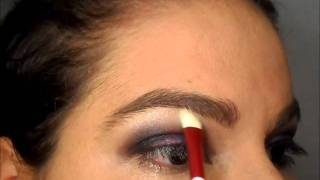 Tutorial - Deep Purple Make Up