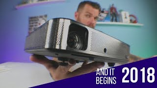 Best Projector under $500 2018 | Coolux S3 Projector review