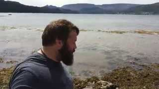 Newfoundland road trip...sorry for the sound, enjoy the view! Lol