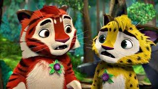 Лео и Тиг сборник серий с 22 по 24 | Детям про животных | Мультфильм HD