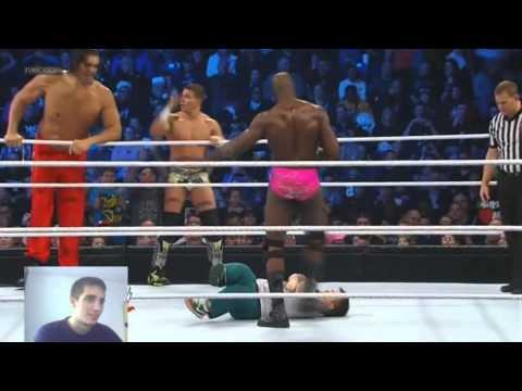 WWE Great Khali team & Tyson team vs Titus...