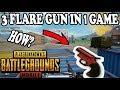 omg 3 flare guns 19kill solo vs squad pubg mobile ronnie gaming