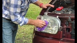 Clean & Restore Headlights Super Easy and Fast!