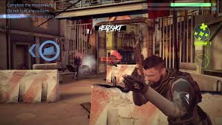 Cover Fire shooting games Campaign Episode 1 Resistance Mission 1-9 Hail of bullets HD