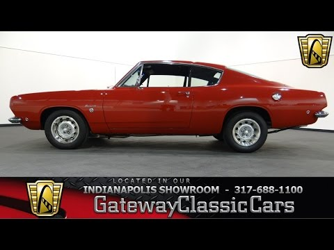 1968 Plymouth Barracuda - #495-ndy - Gateway Classic Cars - Indianapolis