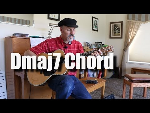 Dmaj7 Open Position Chord - RHCP Under The Bridge example - YouTube