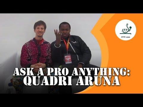 Ask A Pro Anything: Quadri Aruna