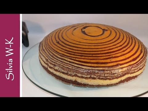 Zebrakuchen / Marmorkuchen
