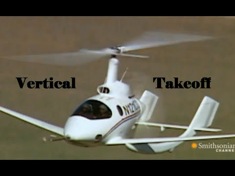 Top 10 vertical takeoff Gyrocopter  The Past , Present & the Future