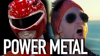 POWER RANGERS - POWER METAL (Jonathan Young)