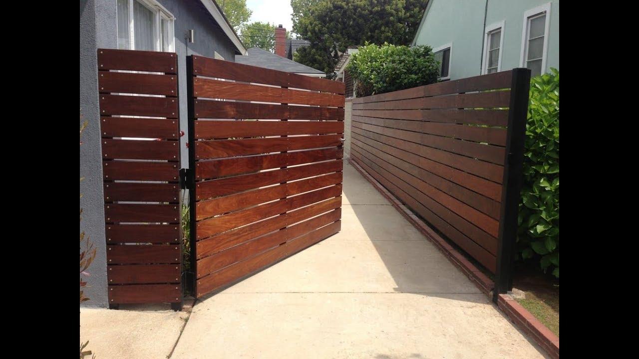Backyard Gate Ideas YouTube - Backyard gate ideas