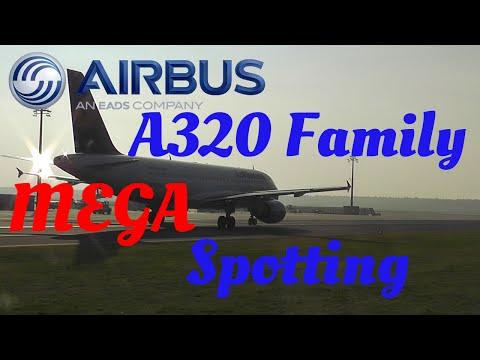 A320 Family MEGA Spotting [FullHD]