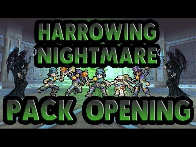 Harrowing Nightmare Pack Opening 2017 (Wizard101) - clipzui com
